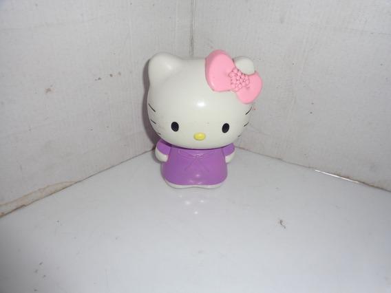 Boneca Hello Kitty Vestido Roxo Mc Donalds 2004 Usado