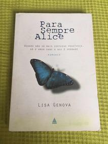 Livro Para Sempre Alice Lisa Genova