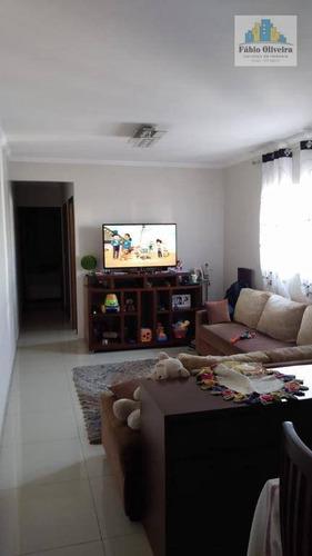 Cobertura Tipo Sem Condomínio Com Acesso Interno  Com 2 Dormitórios À Venda, 63 M² Por R$ 450.000 - Vila Humaitá - Santo André/sp - Co0161