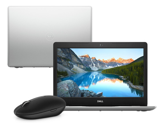 Notebook Dell 3481-m10m Ci3 4gb 1tb W10 + Mouse Wireless