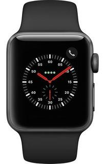 Apple Watch Series 3 Sport Preto E Prata 38mm 12x Nota