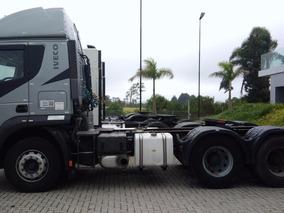Iveco Stralis 440 6x2 2014 Automático Com Ar