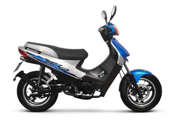 Motomel Blitz 110 V8 Tunning 0km Semi Scooter