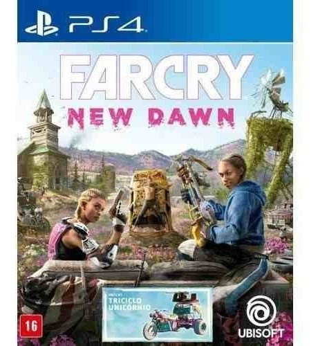 Farcry New Dawn Ps4 Mídia Física Lacrado Pt/br