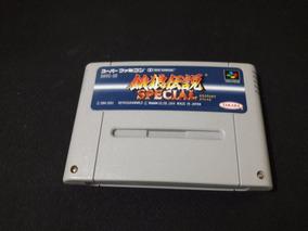 Cartucho Fatal Fury Special Original Para Super Nintendo Fmc