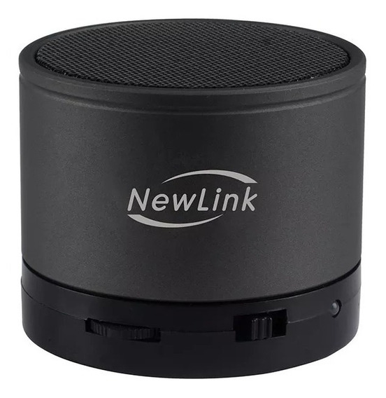 Caixa Som Speaker Portátil 5w Bluetooth Preto Sp107 Newlink