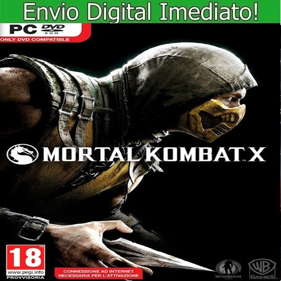 Mortal Kombat X Pc Hd Envio Imediato.