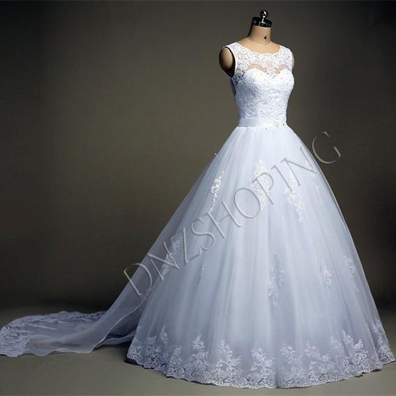 Vestido De Noiva + Frete Grátis