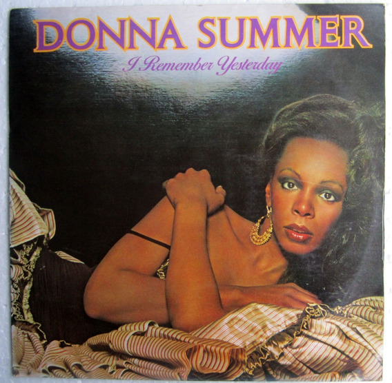 Lp Donna Summer I Remember Yesterday