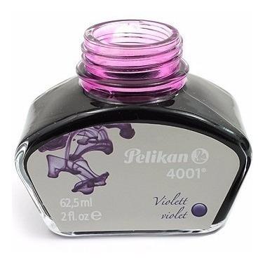 Tinta Para Caneta Tinteiro Violeta Pelikan 4001 62,5ml