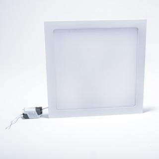 Plafon 18w Quadrado Embutir Led Branco Frio Bivolt