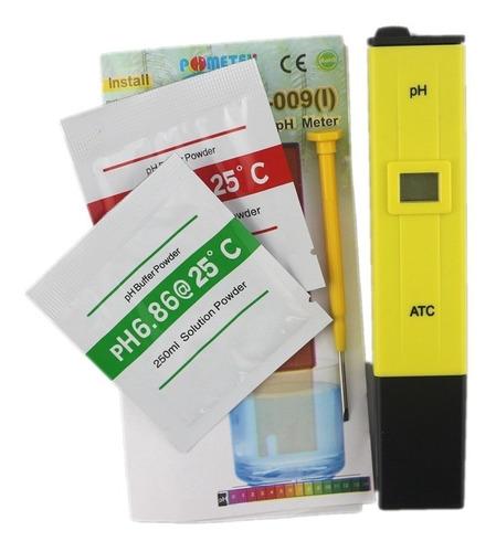 Ph Metro Digital Medidor Phmetro Liquidos Buffer Baterias