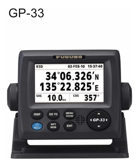 Gps Furuno Gp33 Menu Português (substituto Gp32) - Com Nf