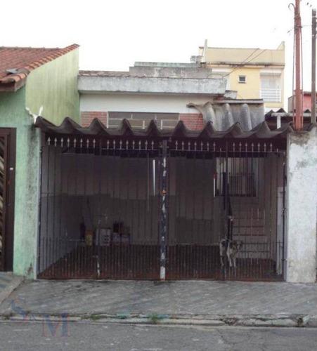 Imagem 1 de 1 de Casa Com 2 Dormitórios À Venda, 110 M² Por R$ 330.000,00 - Parque Capuava - Santo André/sp - Ca0865