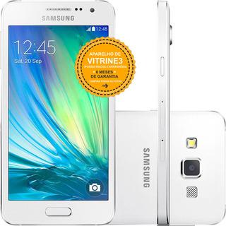Samsung Galaxy A3 A300m 16gb Dual 4g 8mp Branco Vitrine 3