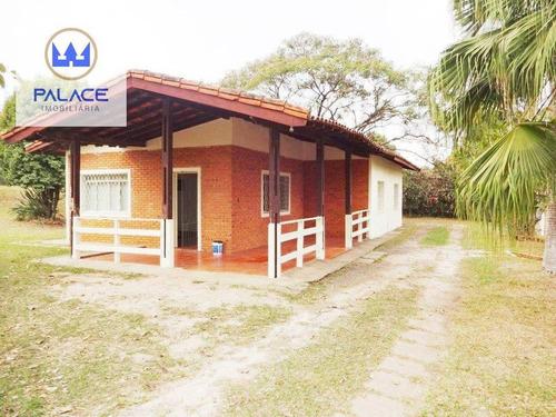 Imagem 1 de 26 de Chácara Com 3 Dormitórios À Venda, 10086 M² Por R$ 650.000,00 - Nova Suiça - Piracicaba/sp - Ch0012