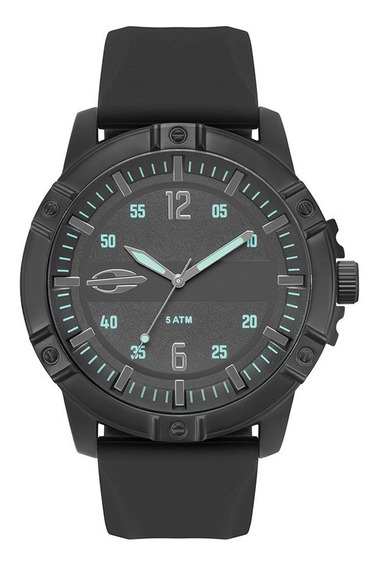 Relógio Mormaii Masculino Mare Mo2036iq/2p Preto Aço
