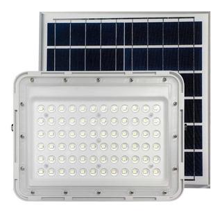 Reflector Solar 78 Led 100w Luz Exterior 18 Cuotas Panel Mc