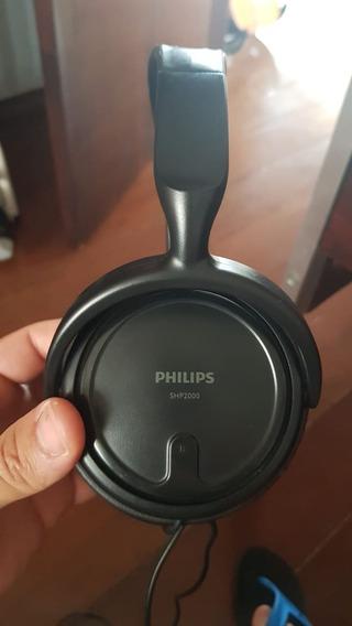 Fone De Ouvido Philips Shp 2000 Usado Em Excelente Estado
