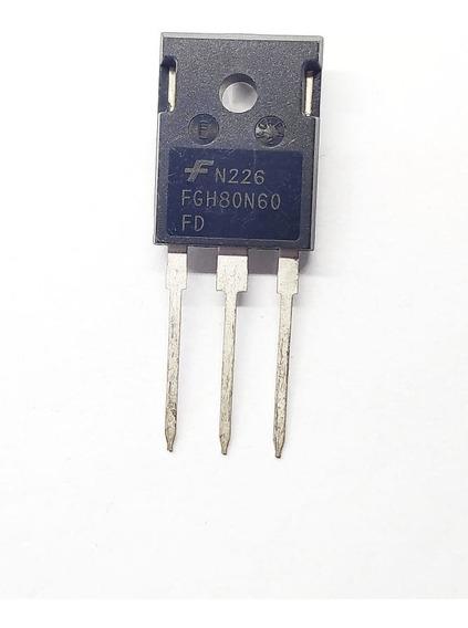 Componente Eletrônico Fgh80n60fd To247 / Fgh80n60