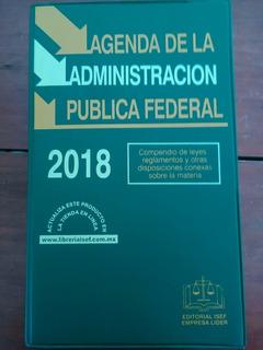 Agenda De La Administración Publica Federal 2018