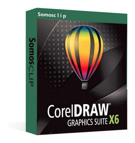 Corel Draw Graphics Suite X6/ El Mejor Editor Para Diseño