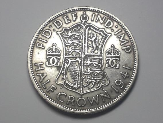 Moneda Plata 1941 Reino Unido Km#856
