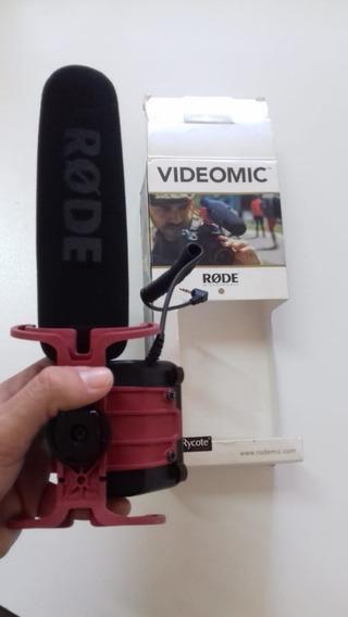 Microfone Rode Videomic Rycote Usado Preço Imperdível