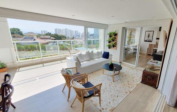 Apartamento Com 4 Dormitórios À Venda, 309 M² Por R$ 1.640.000,00 - Jardim Esplanada - São José Dos Campos/sp - Ap5176