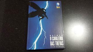 Hq Dc Batman O Cavaleiro Das Trevas - Frank Miller Capa Azul