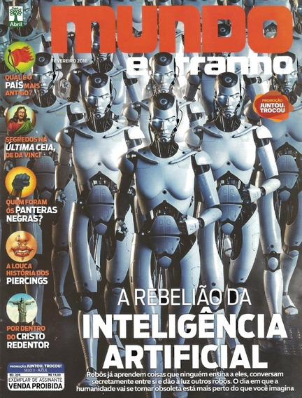 Revista Mundo Estranho - Ed. 205: 02/18 - Inteli. Artificial