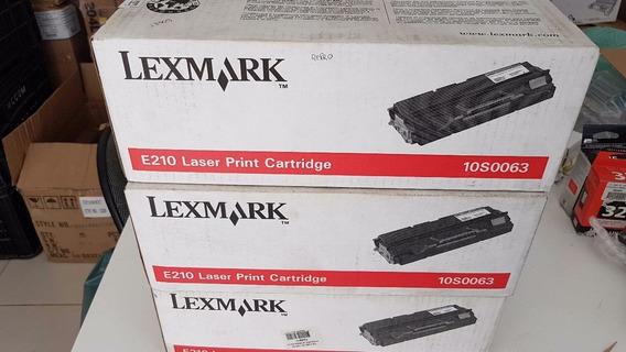 Toner Lexmark Optra E210 Negro 10s0063 (oferta) + Envío