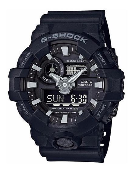 Relógio Casio G-shock Ga-700-1b Lançamento Ga700 Original