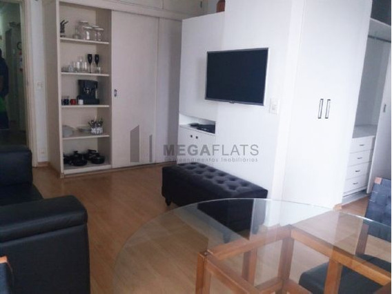 06006 - Flat 1 Dorm, Cidade Jardim - São Paulo/sp - 6006