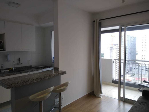 Apartamento 1 Dorm, 1 Vaga, Mobilado - Brás, São Paulo -sp