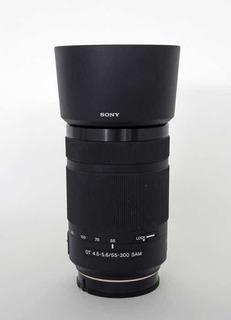 Lente Sony Telefoto 55-300 Montura A