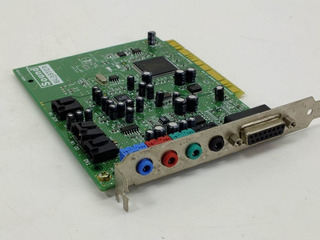 Sound Blaster Pci 128, 16 Bit Pci Placa De Sonido Ct4790