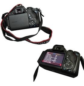 Câmera Canon T3i Semiprofissional E Acessórios