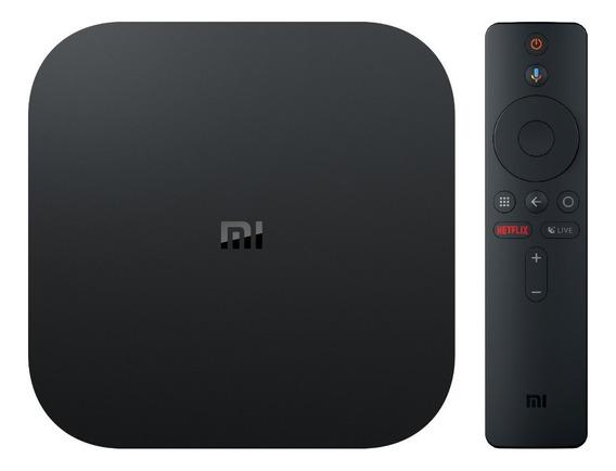 Xiaomi Mi Box S 4k Android 8.1 Mibox Original 4k Chromecast Mdz-22-ab - A Versão Mais Nova - Pronta Entrega