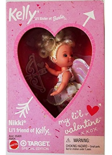 Imagen 1 de 1 de Nikki My Little Valentine Kelly Doll 2001 Target