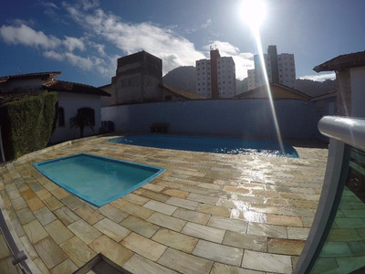 Casa C/ `piscina Em Condomínio No Canto Do Forte Em Praia Grande. - Codigo: Ca0275 - Ca0275