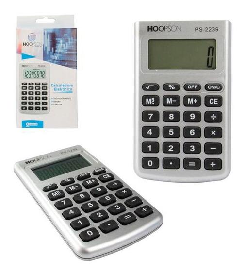 Calculadora Hoopson Ps-2239 Eletronica 8 Digitos