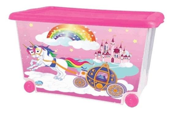 Caixa Organizador Brinquedo 50 Litros