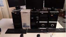 Computadotes Completos Com Monitor Teclado Cpu E Mouse