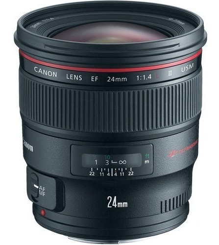 Imagem 1 de 5 de Lente Canon Ef 24mm F/1.4l Ii Usm