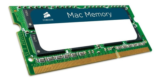Memória Sodimm Notebook 8gb Ddr3 1333 Mac Corsair C/ Nf
