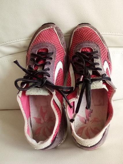 Zapatos Deportivos De Dama Marca Rs21 Talla 38