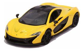 Miniatura Mclaren P1 Amarela Motormax 1/24