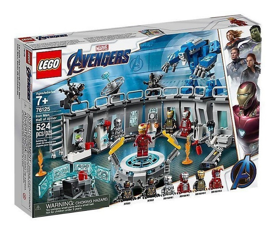 Lego Marvel Avengers Iron Man: Sala De Armaduras 76125