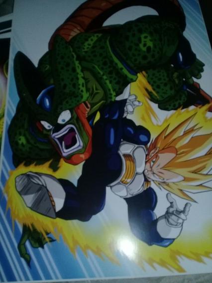 Poster De Vegeta Vs. Cell Fase 2 Dragon Ball Z
